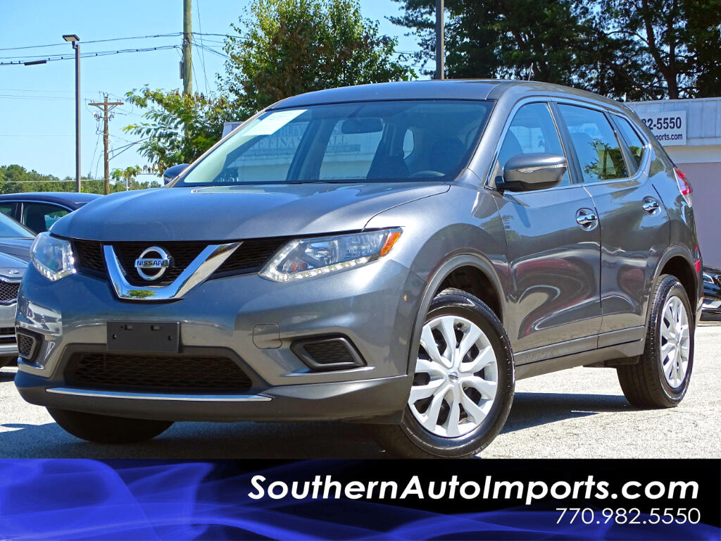 2015 Nissan Rogue S w/Back Up Camera 1owner