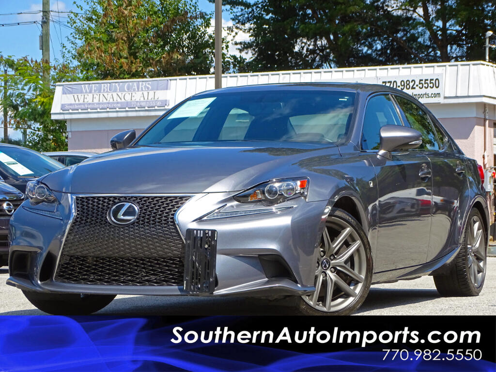 2014 Lexus IS IS 350 w/F-Sport Package Navigation Back Up Camera