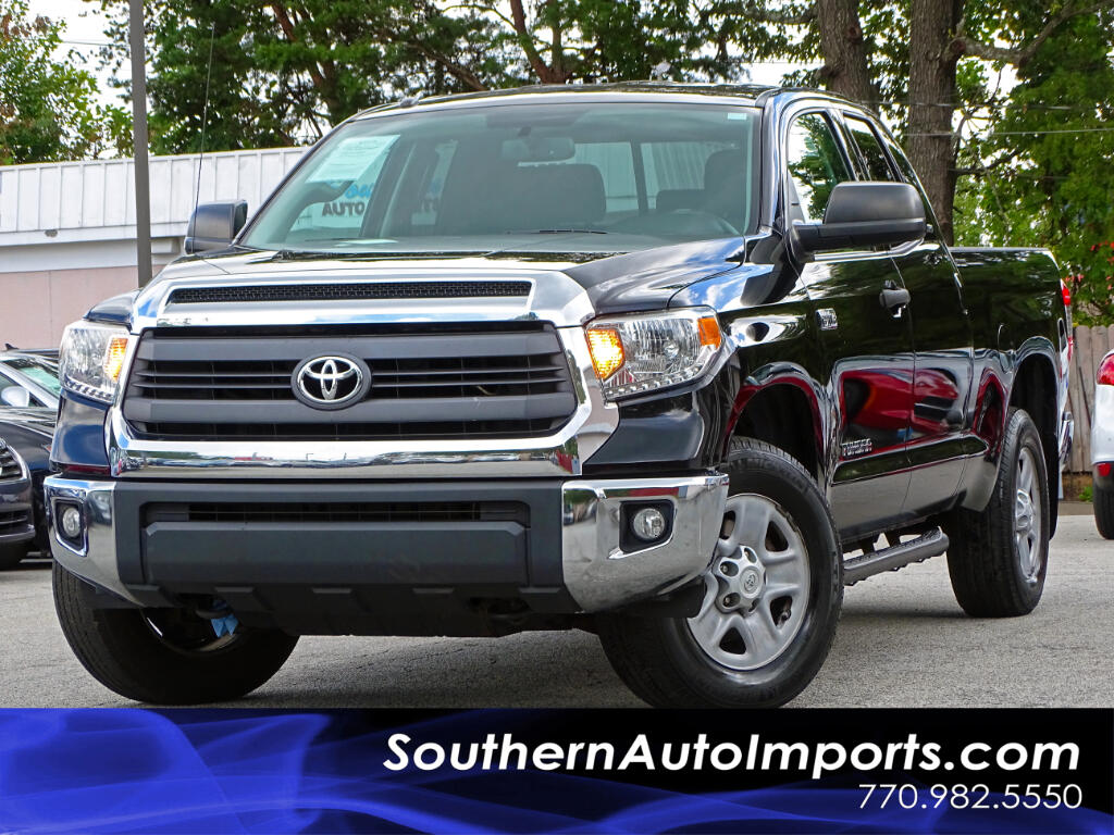 2014 Toyota Tundra Double Cab 5.7L FFV V8 6-Spd AT SR5 (Natl)