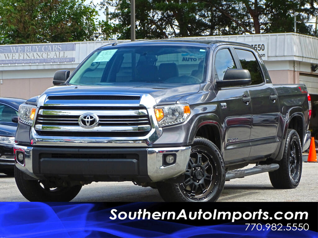 2016 Toyota Tundra CrewMax 5.7L FFV V8 6-Spd AT SR5 (Natl)