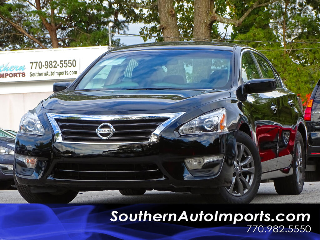 2015 Nissan Altima 2.5 S w/Special Edition Package Polished Wheels