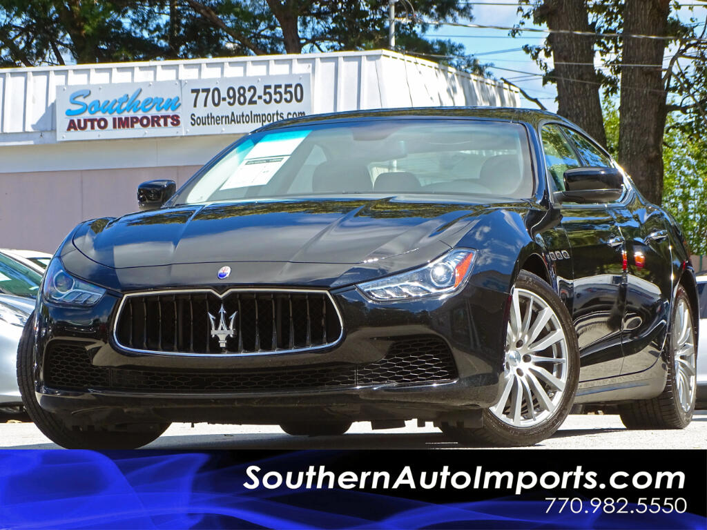 2015 Maserati Ghibli GHIBLI w/BACK UP CAMERA & NAVIGATION