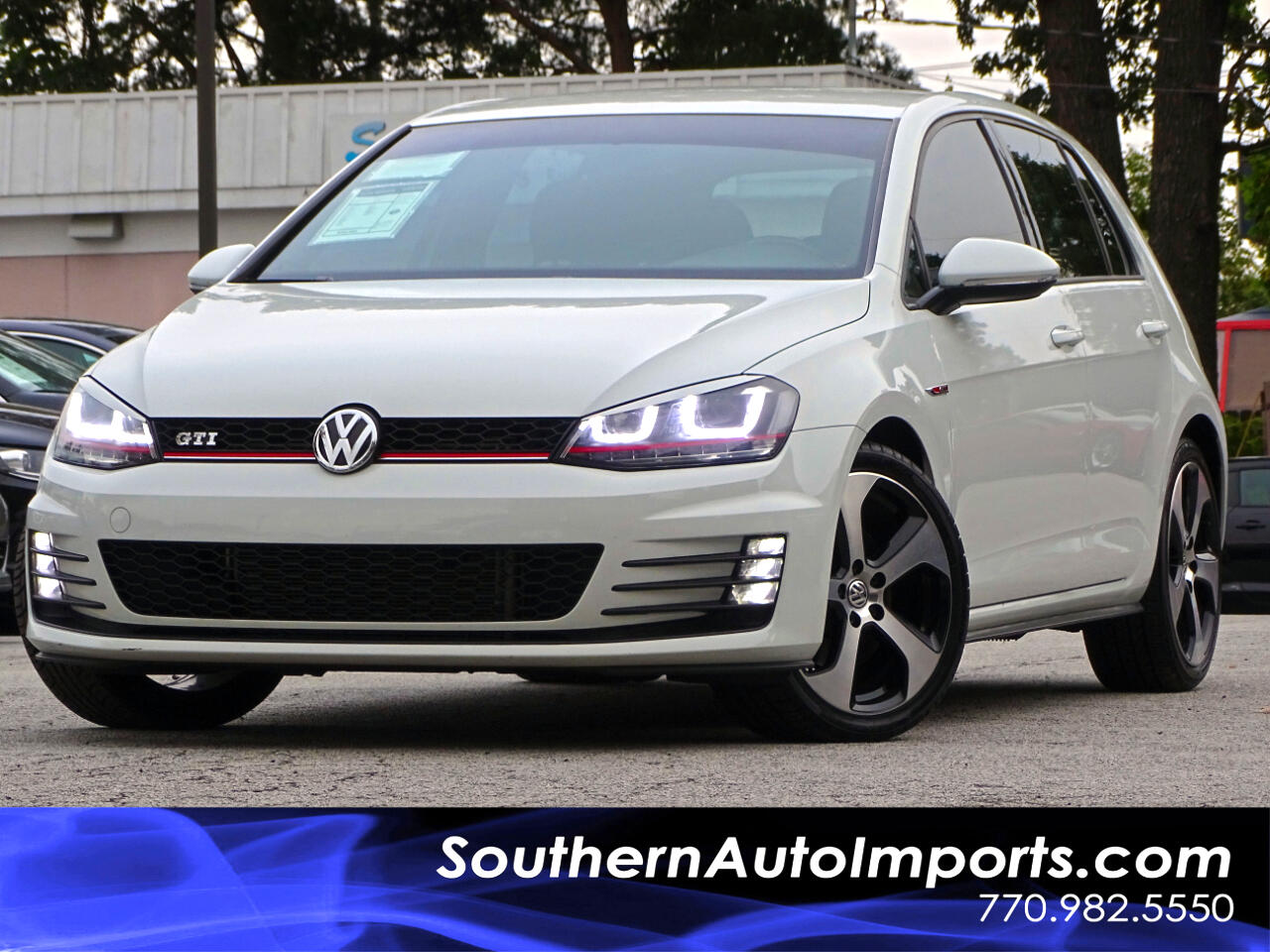 2016 Volkswagen Golf GTI GTI S Back up Camera HID headlights