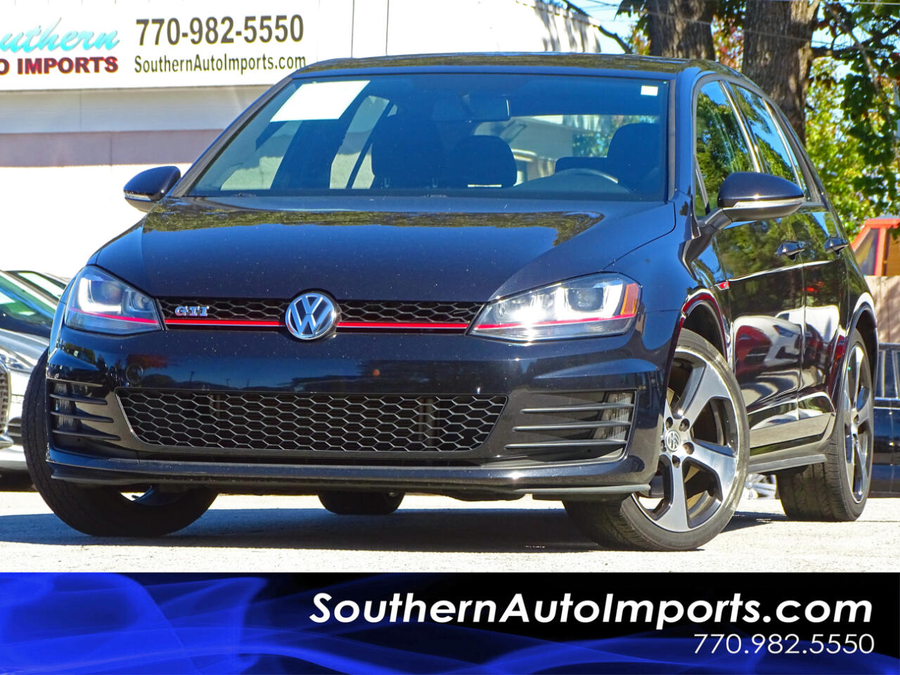 2015 Volkswagen Golf GTI GTI S Xenon Headlights Back up Camera
