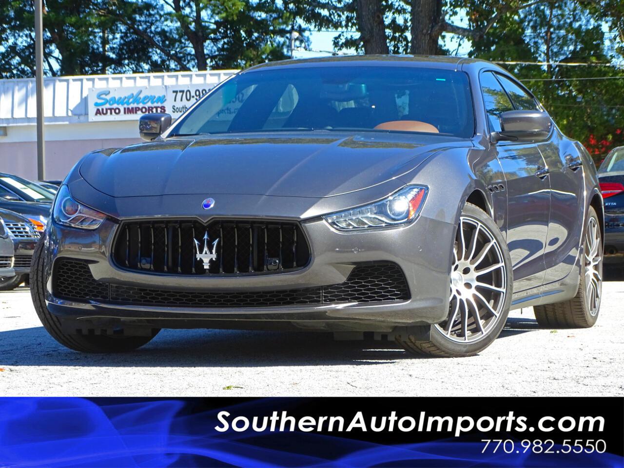 2016 Maserati Ghibli S Pkg w/Sport Wheels Navigation 1owner