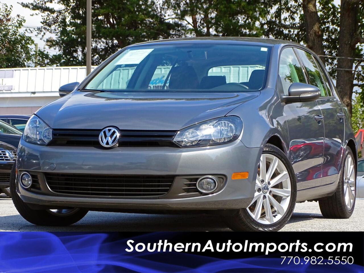 2014 Volkswagen Golf 2.0L TDI w/Touch Screen