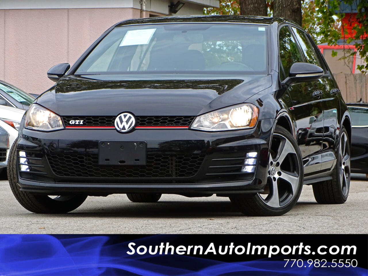 2016 Volkswagen Golf GTI S w/Back up Camera Heated Seats