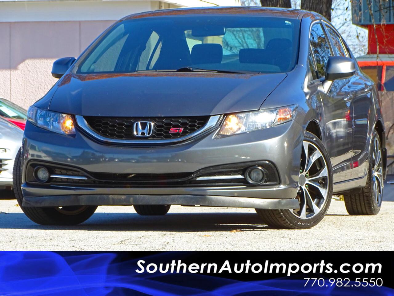 2013 Honda Civic Si Sedan 6-Speed MT