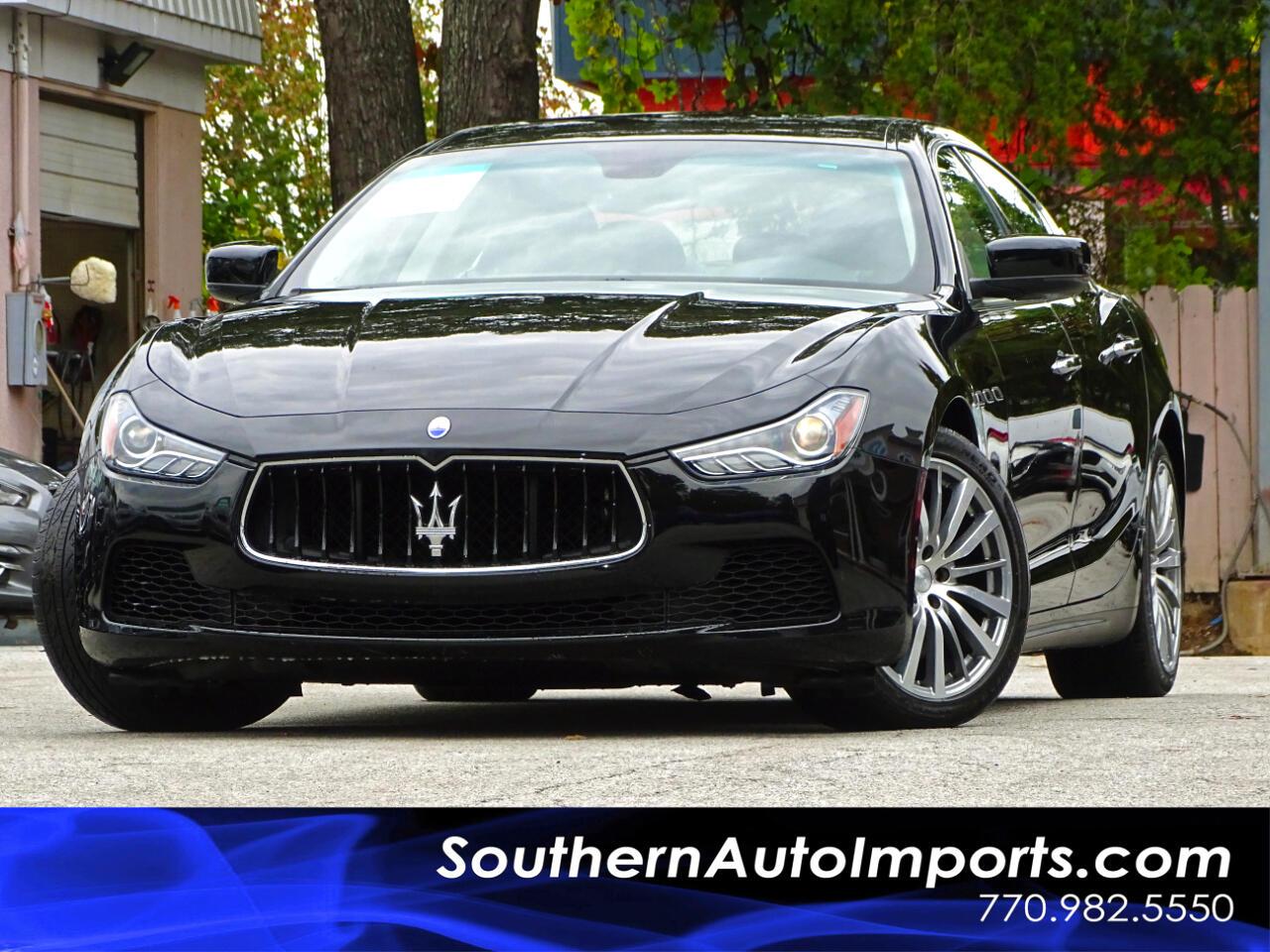 2015 Maserati Ghibli Luxury Package w/Navigation