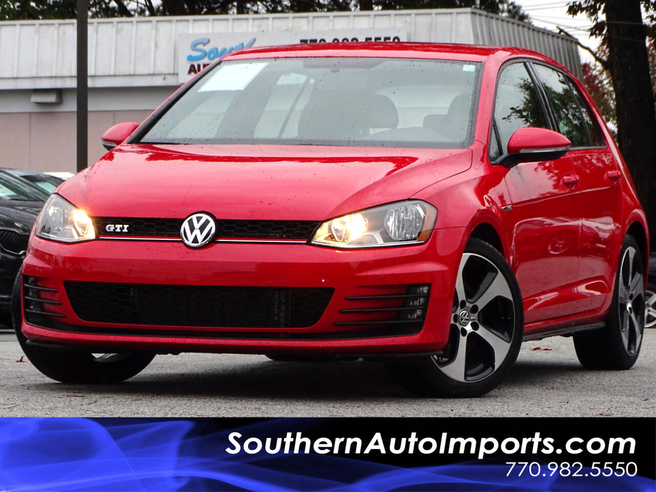 2017 Volkswagen Golf GTI S w/Back up Camera Heated seats Satellite Radio