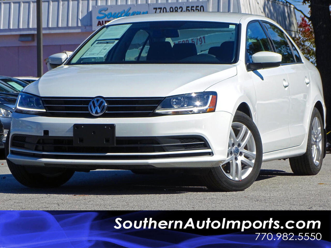 2017 Volkswagen Jetta S Turbocharged Back up Camera