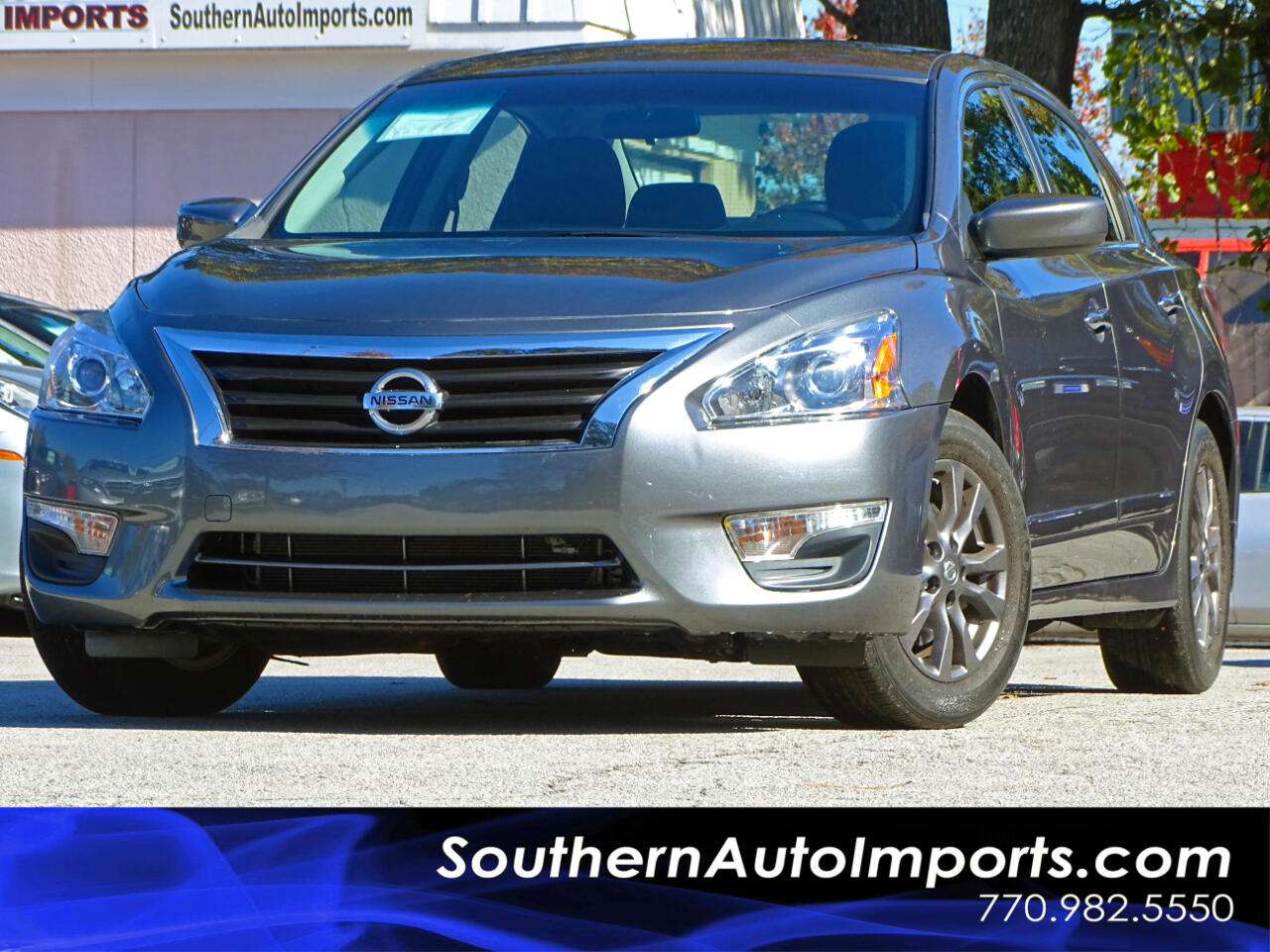 2015 Nissan Altima 2.5 S w/Special Edition Pkg Back Up Camera Alloys