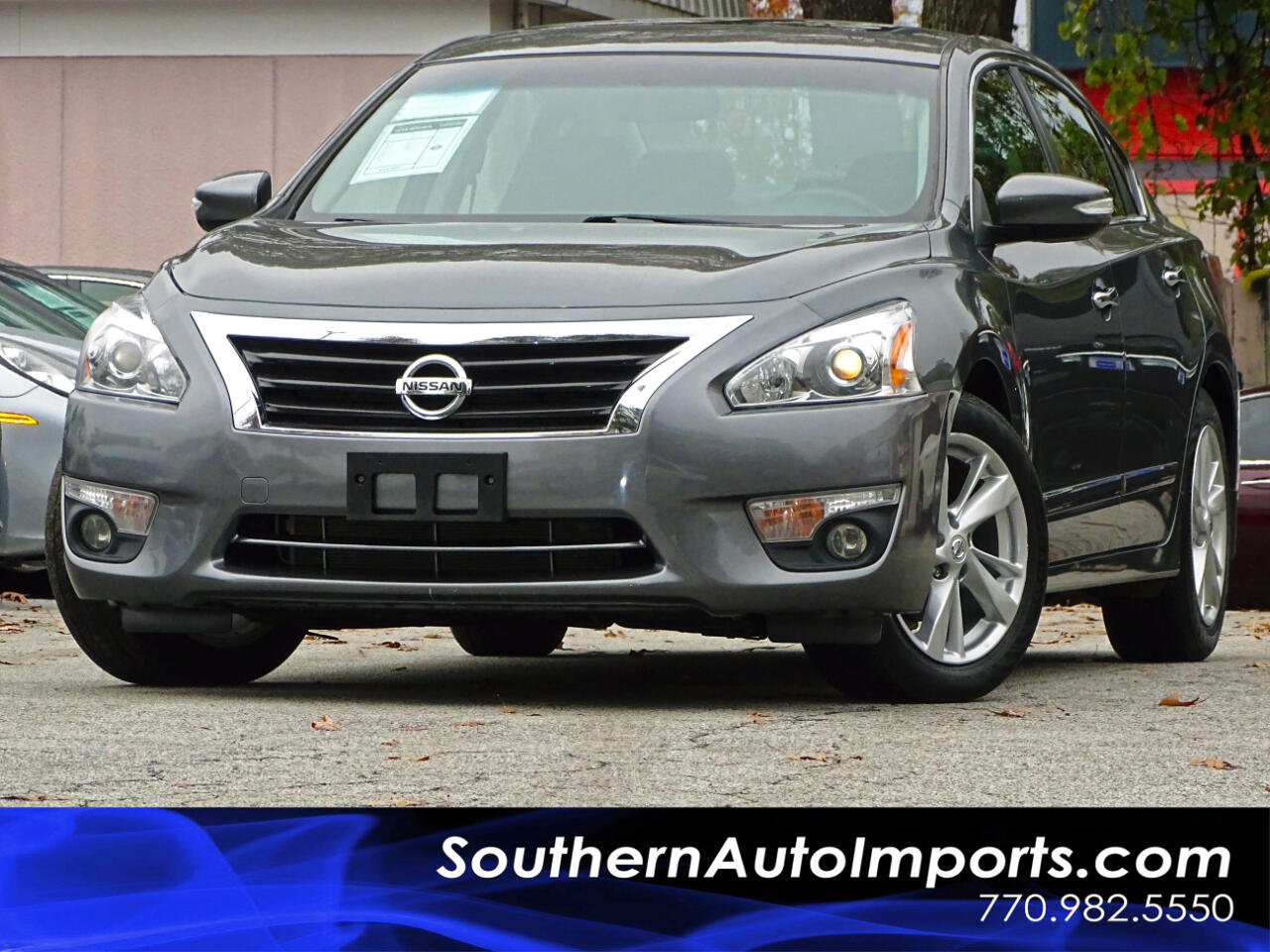 2015 Nissan Altima SL w/Back up Camera Heated seat Sunroof