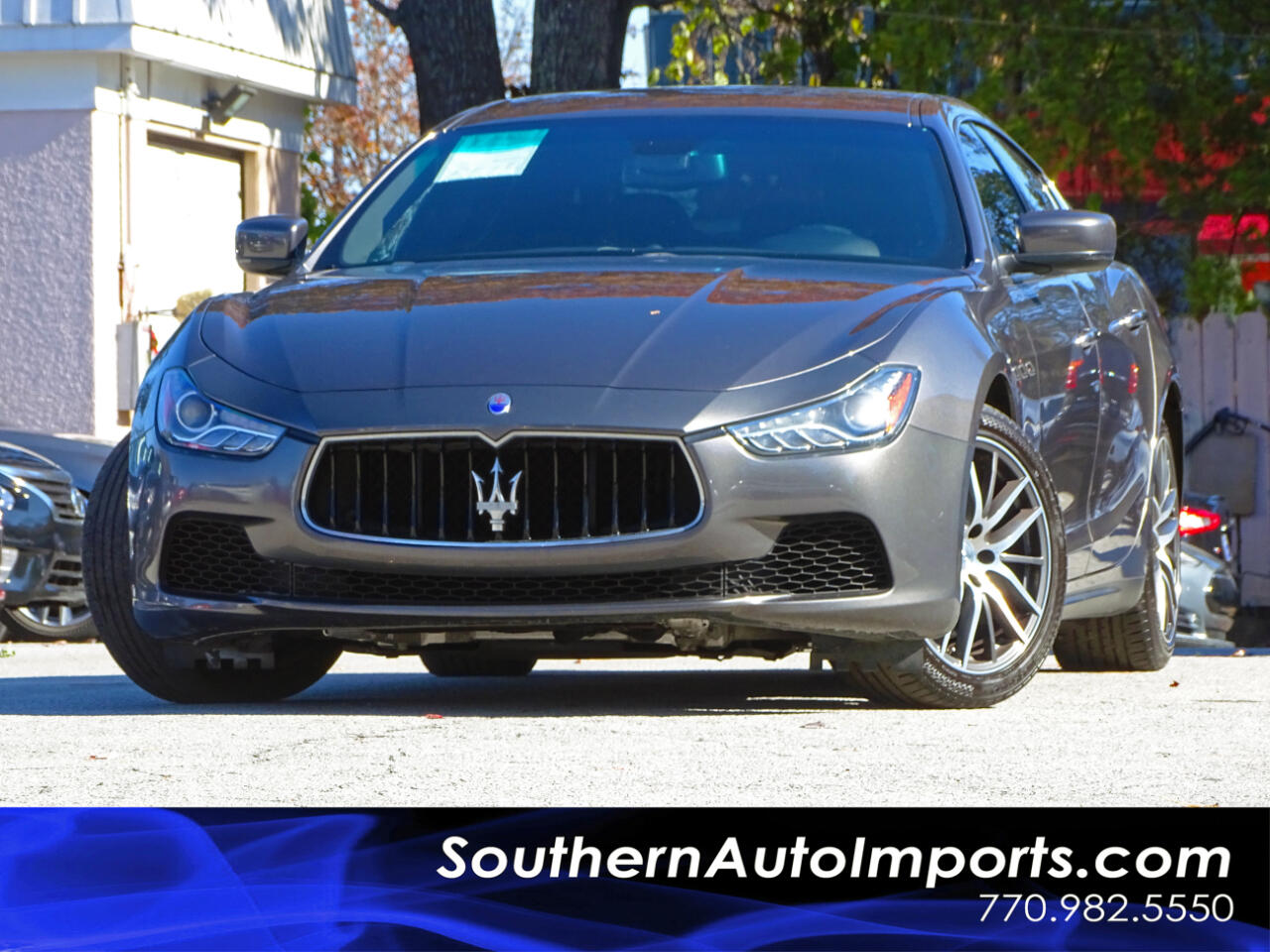 2015 Maserati Ghibli Ghibli w/Back up Camera Navigation Bluetooth