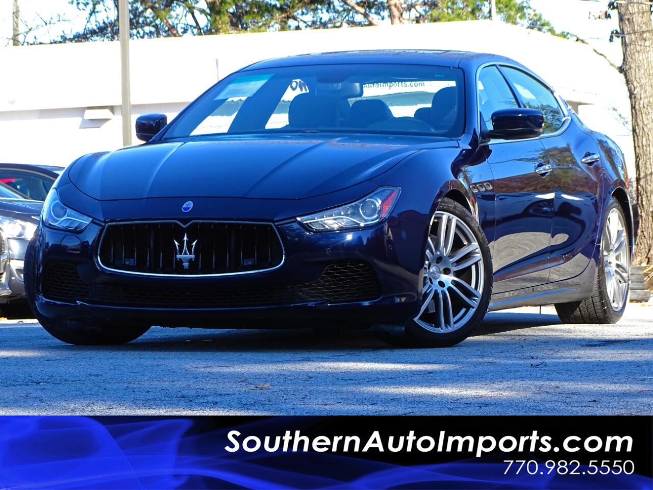 2015 Maserati Ghibli S Q4 w/Sport Package 1owner Navigation