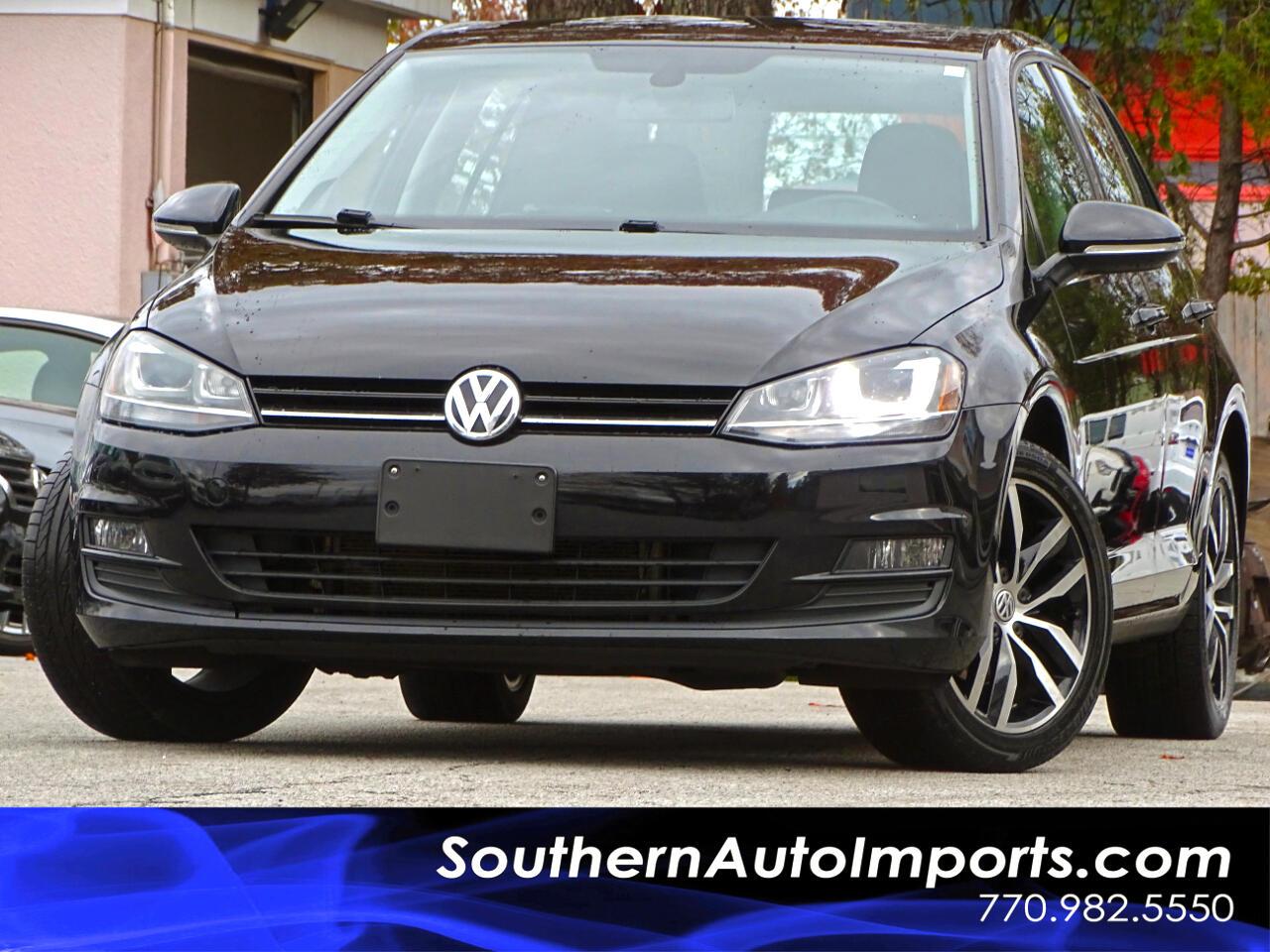 2015 Volkswagen Golf SE TSI w/Panorama Roof Back Up Camera