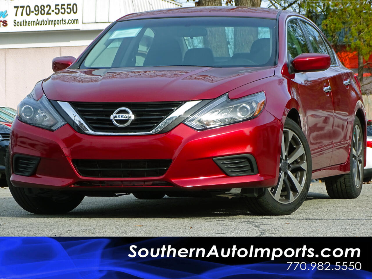 2017 Nissan Altima 2.5 SR w/Paddle Shifters Alloy wheels