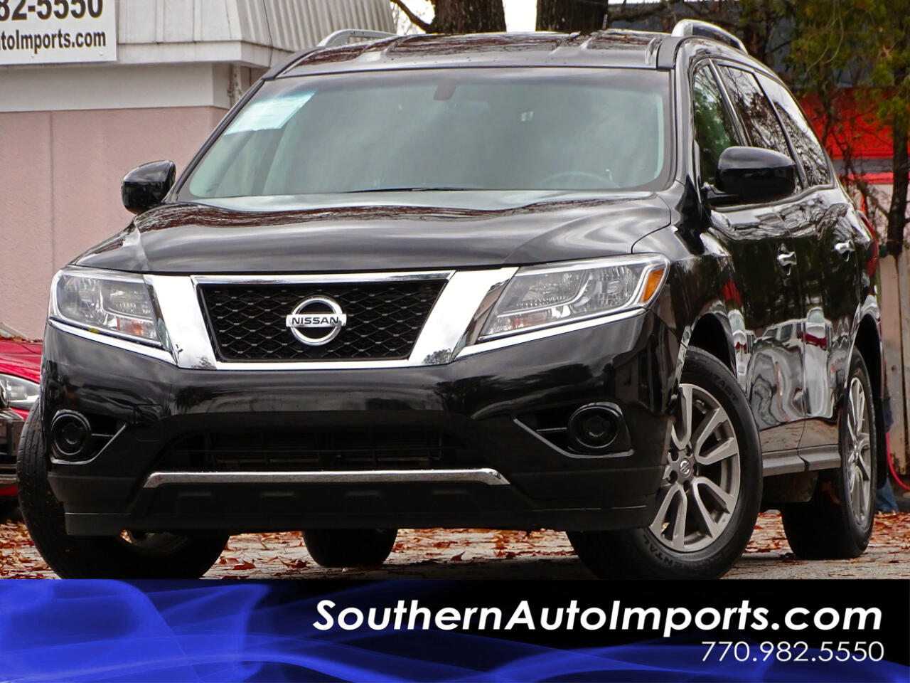2015 Nissan Pathfinder S 1owner