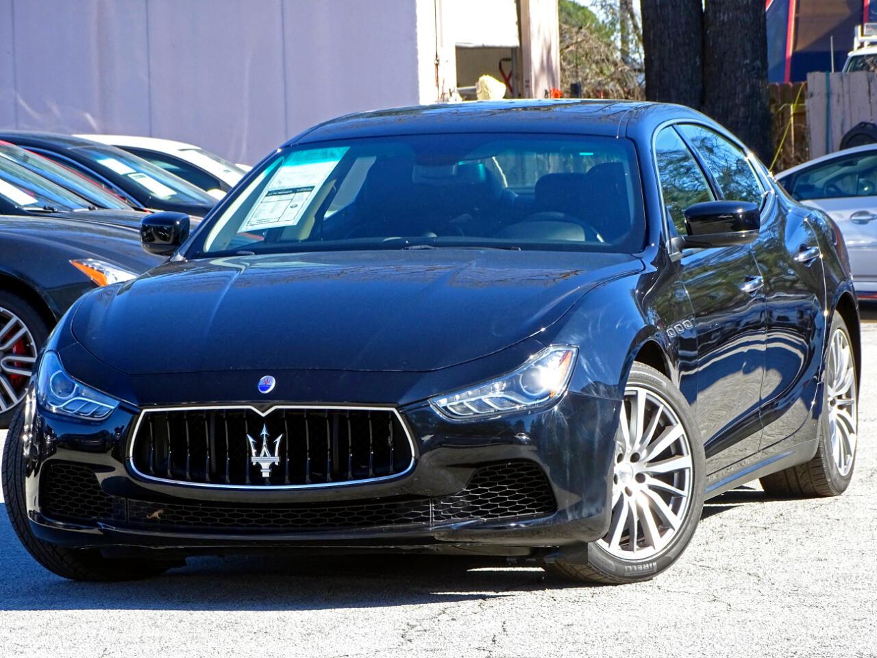 2015 Maserati Ghibli Luxury w/Navigation Back Up Camera