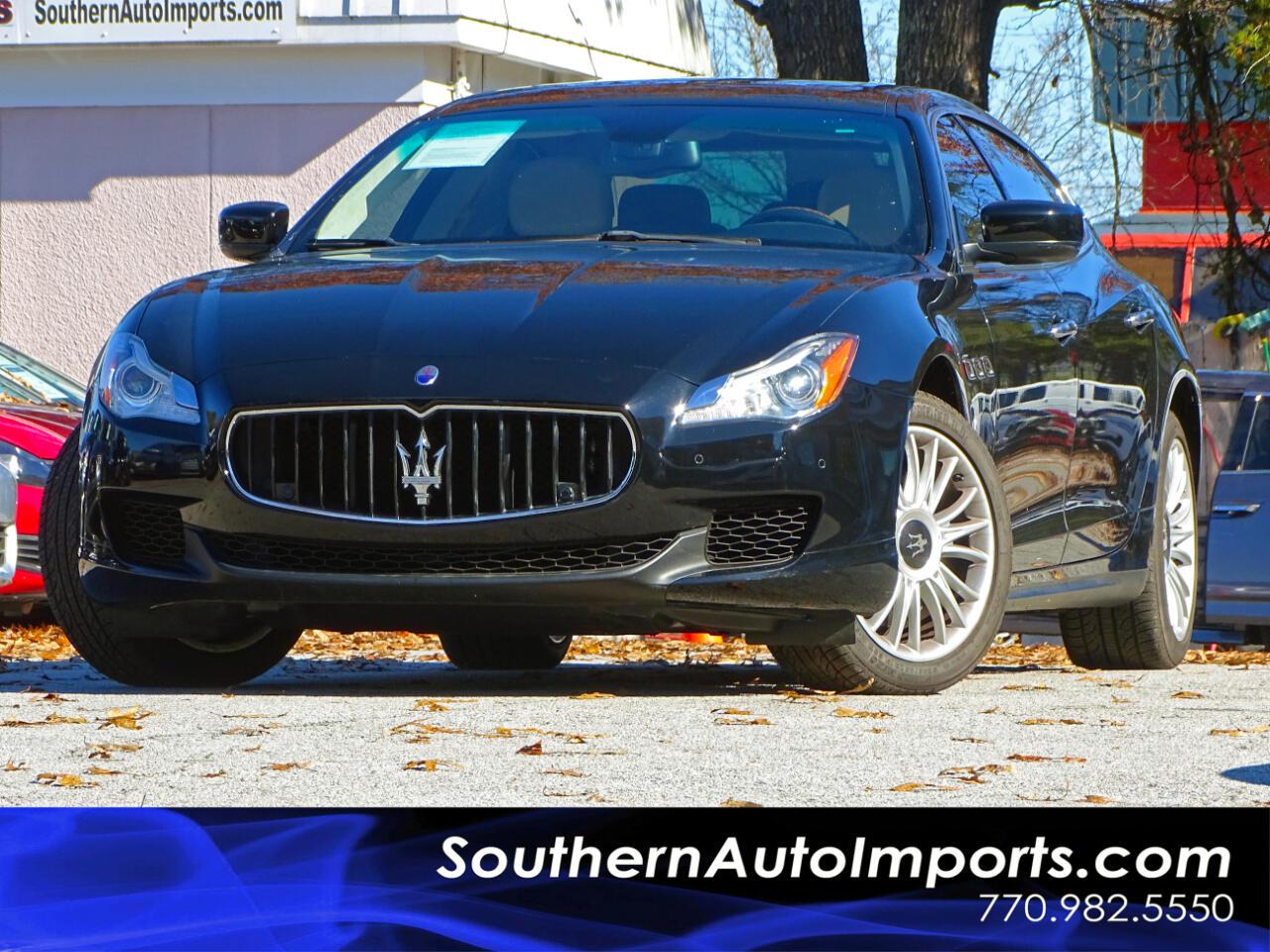 2014 Maserati Quattroporte 4dr Sdn Quattroporte S Q4