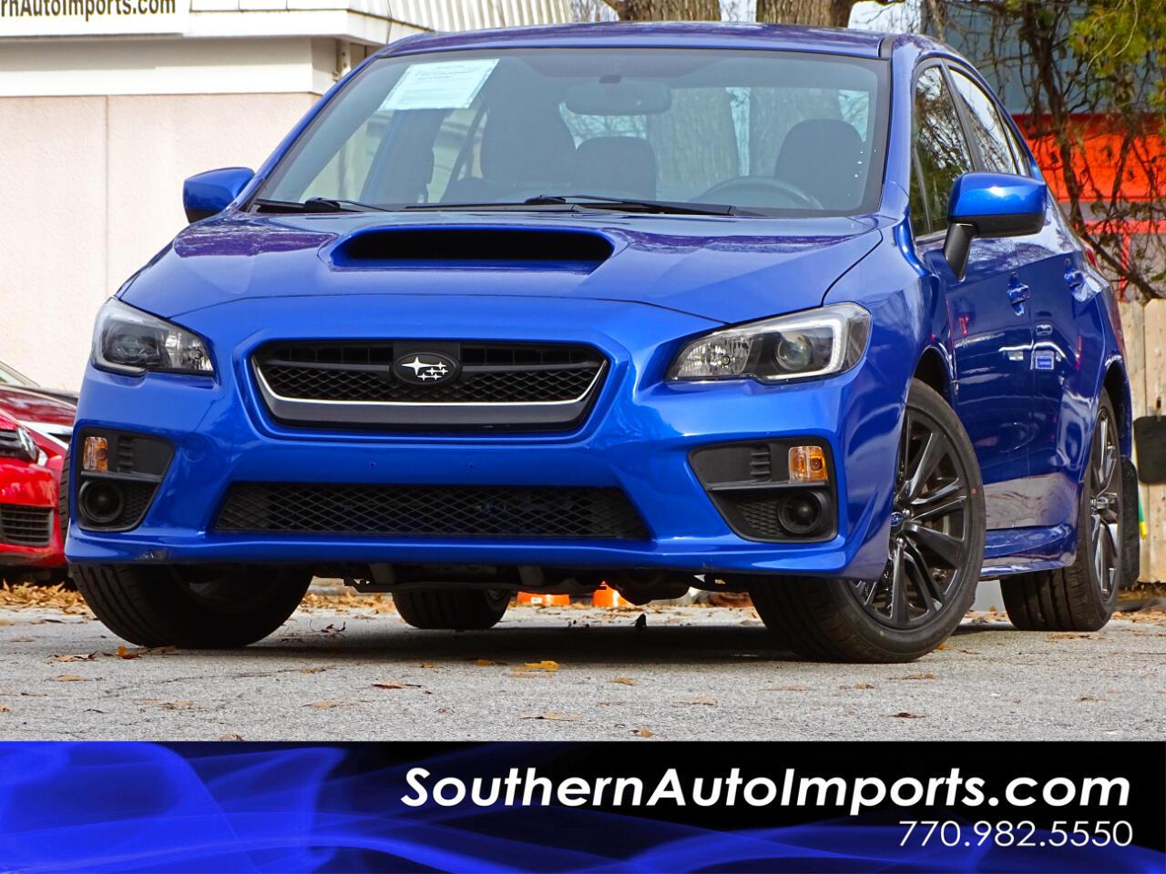 2016 Subaru WRX 4dr Sdn Man