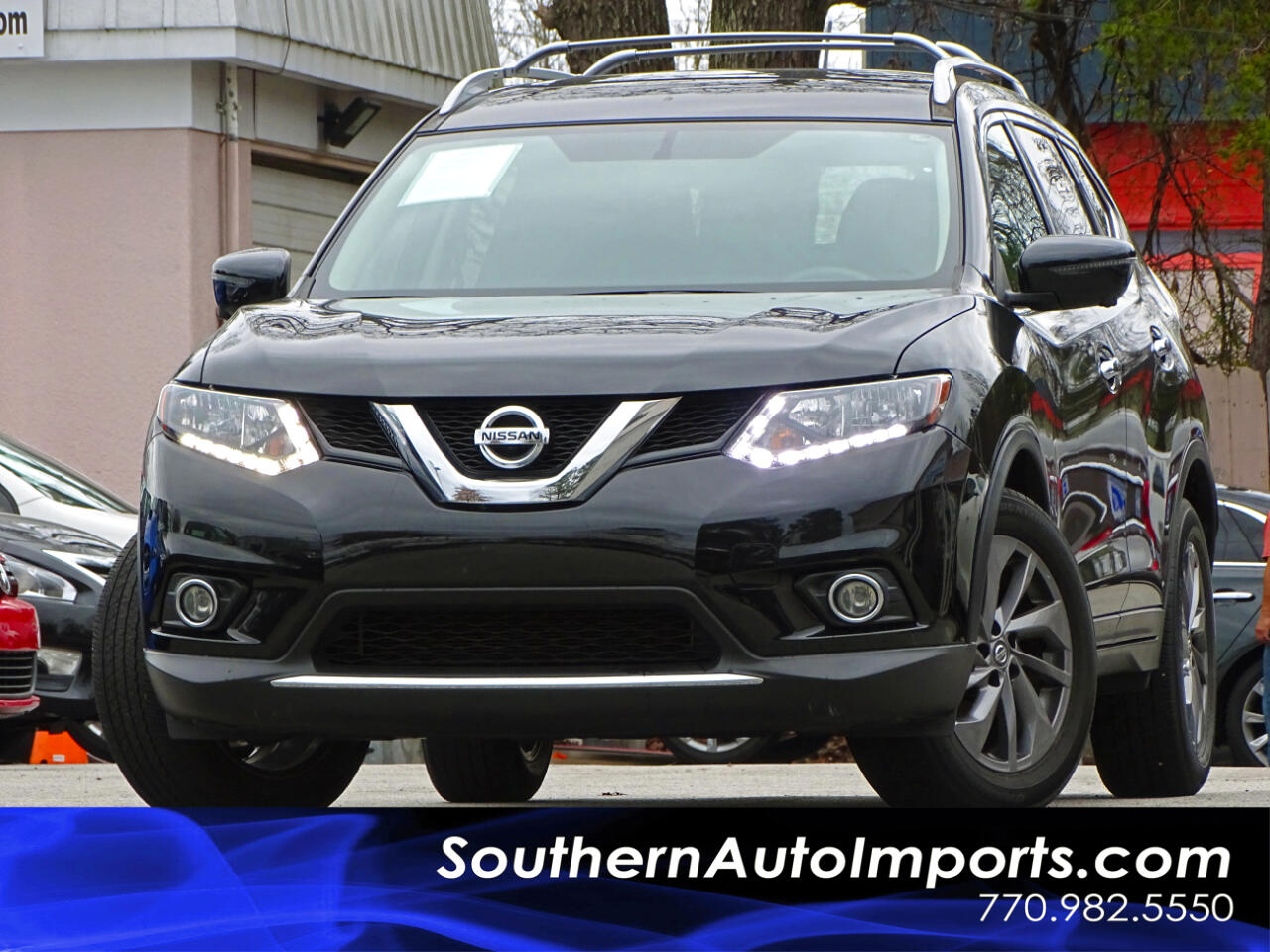 2016 Nissan Rogue SL w/Navigation 360 Camera