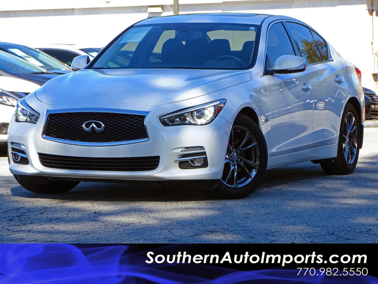 2017 Infiniti Q50 3.0t Signature Edition w/Navigation 1owner