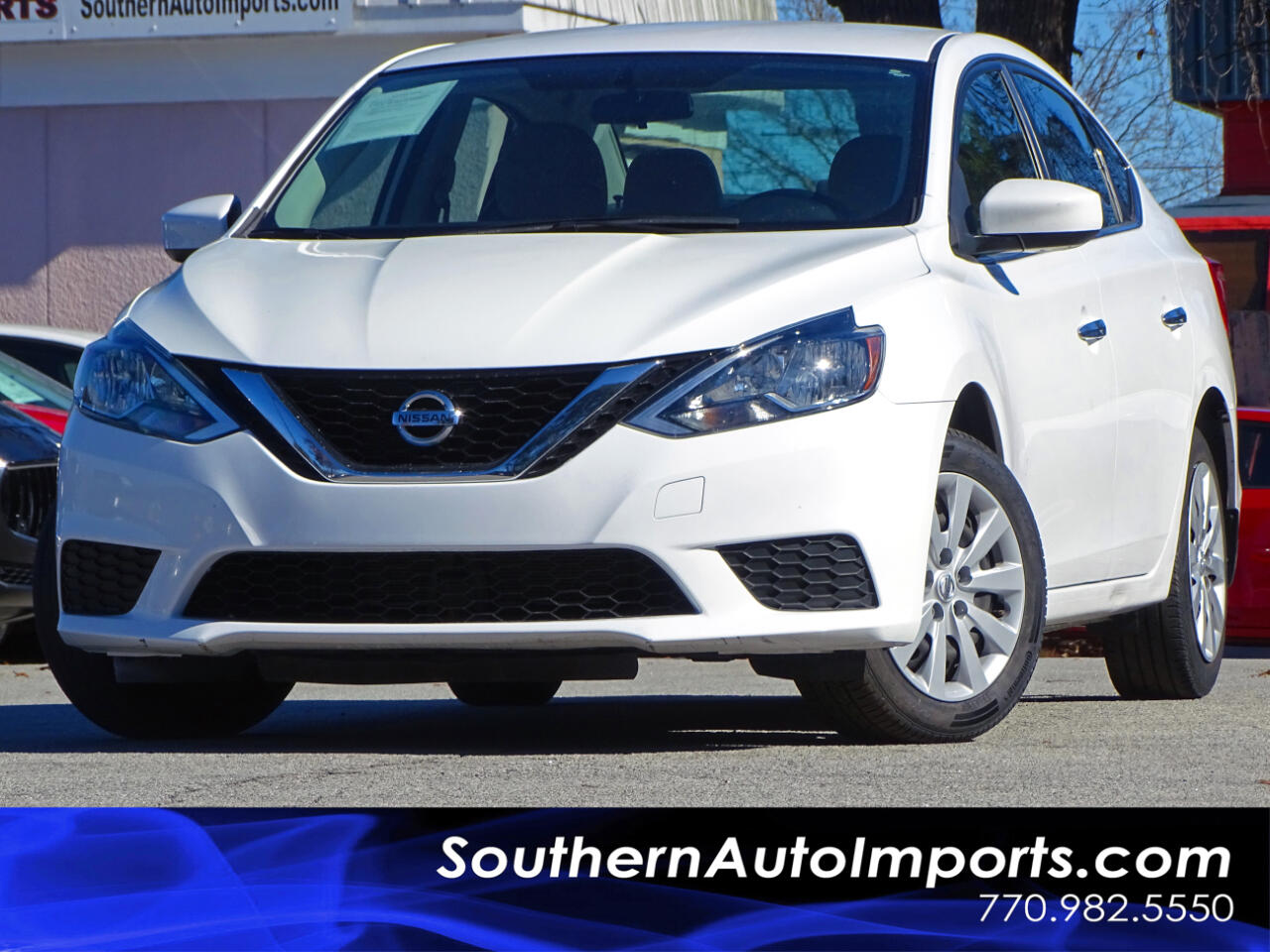 2016 Nissan Sentra S w/Bluetooth Connection
