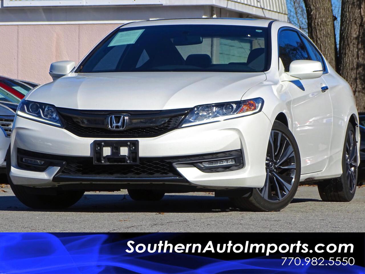 2016 Honda Accord EX w/Back up Camera Sunroof