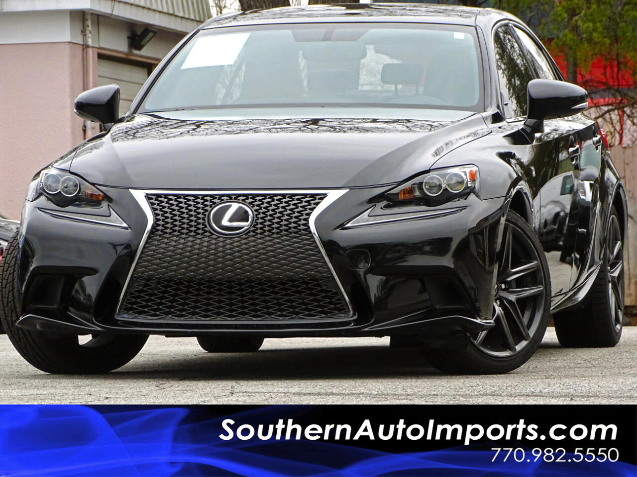 2015 Lexus IS 250 F-Sport Package w/Navigation 1owner