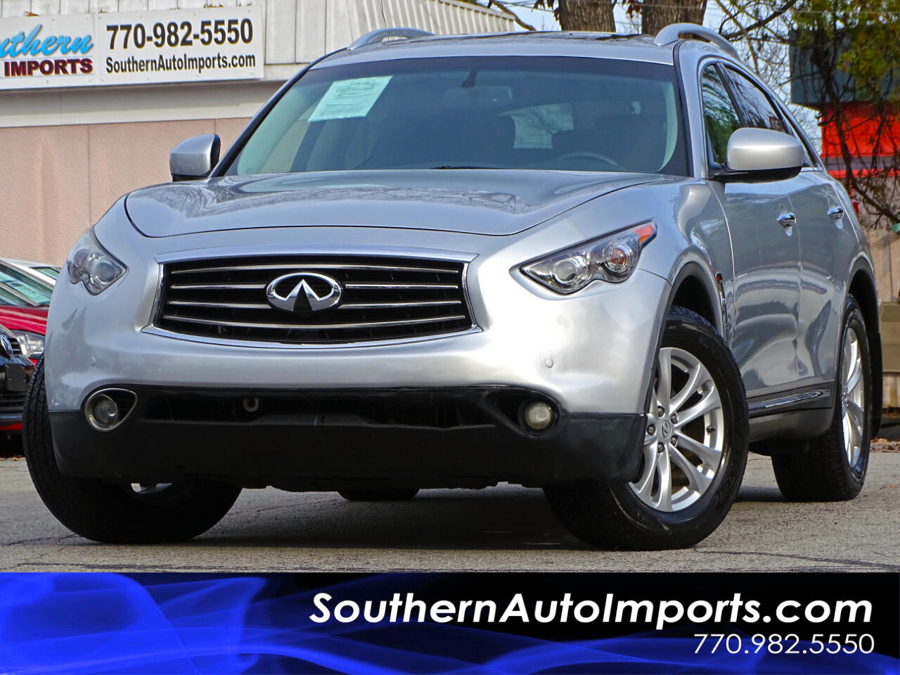 2013 Infiniti FX37 AWD w/Tech Pkg Back up Camera