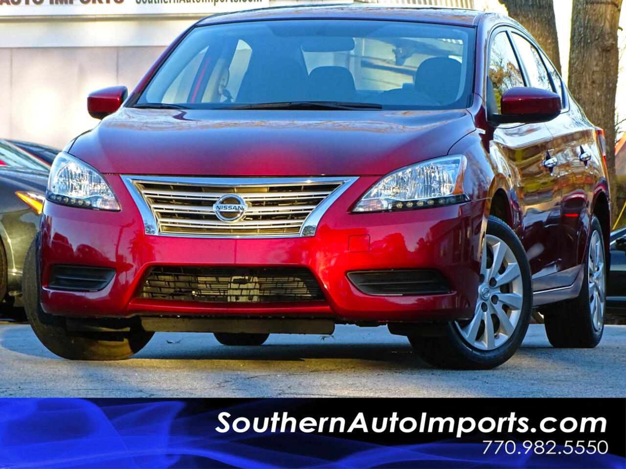 2015 Nissan Sentra SV w/Back up Camera
