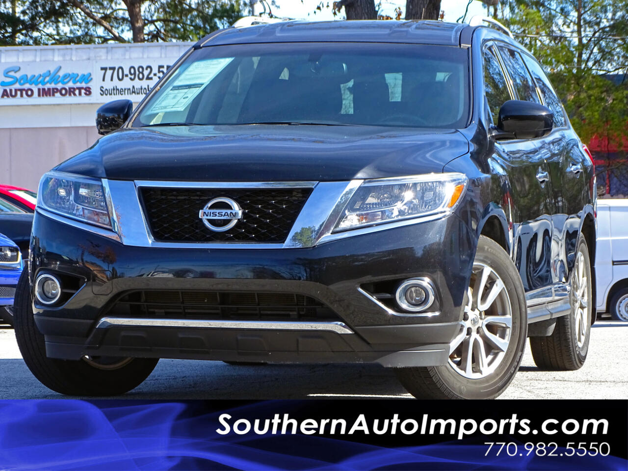 2015 Nissan Pathfinder SL w/Navigation 360 Camera Blind Spot Monitor