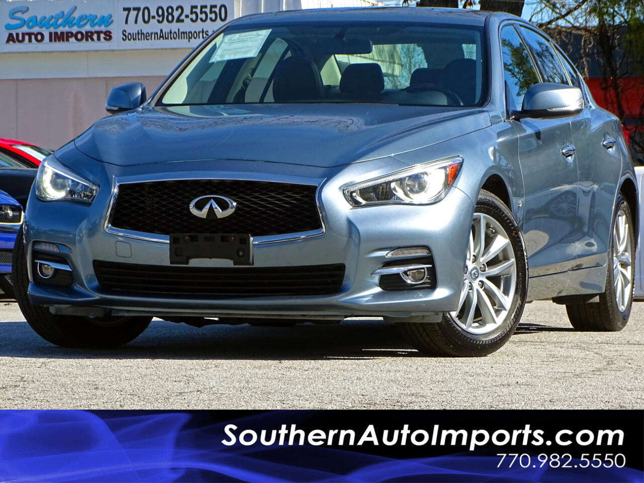 2015 Infiniti Q50 AWD w/Back up Camera Sunroof