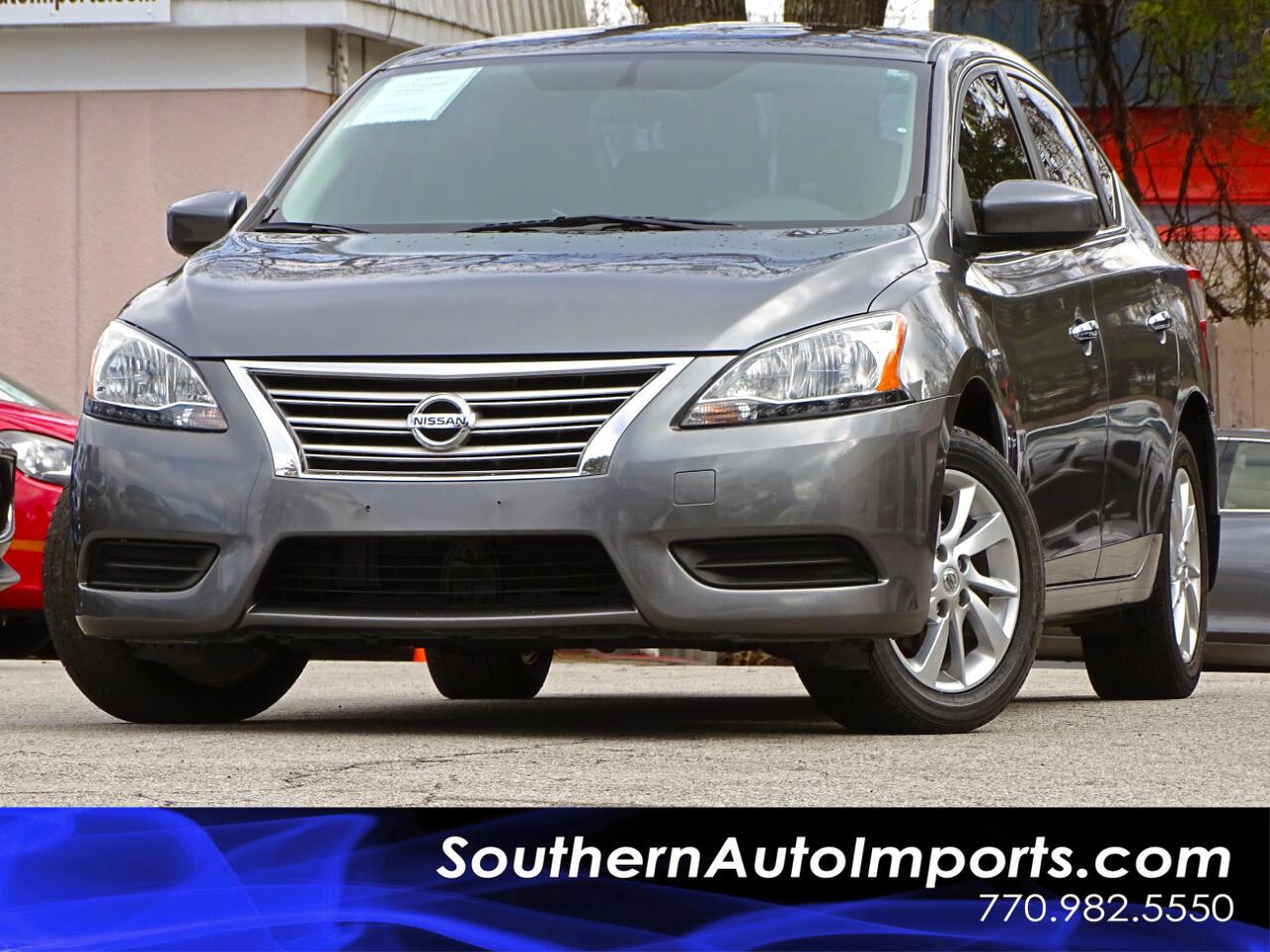 2015 Nissan Sentra SV w/Alloy Wheels Sunroof