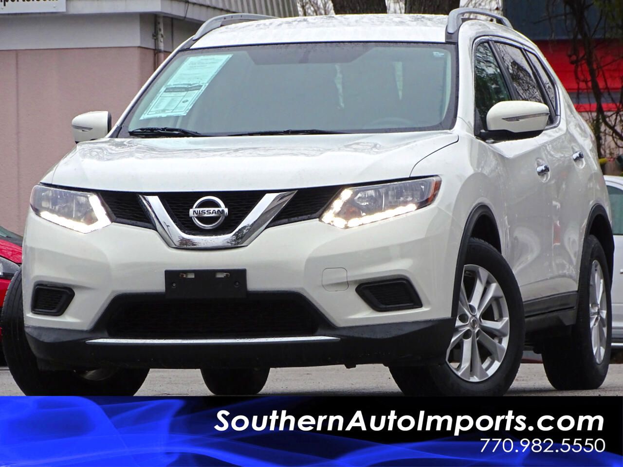 2014 Nissan Rogue SV w/Back Up Camera 1owner