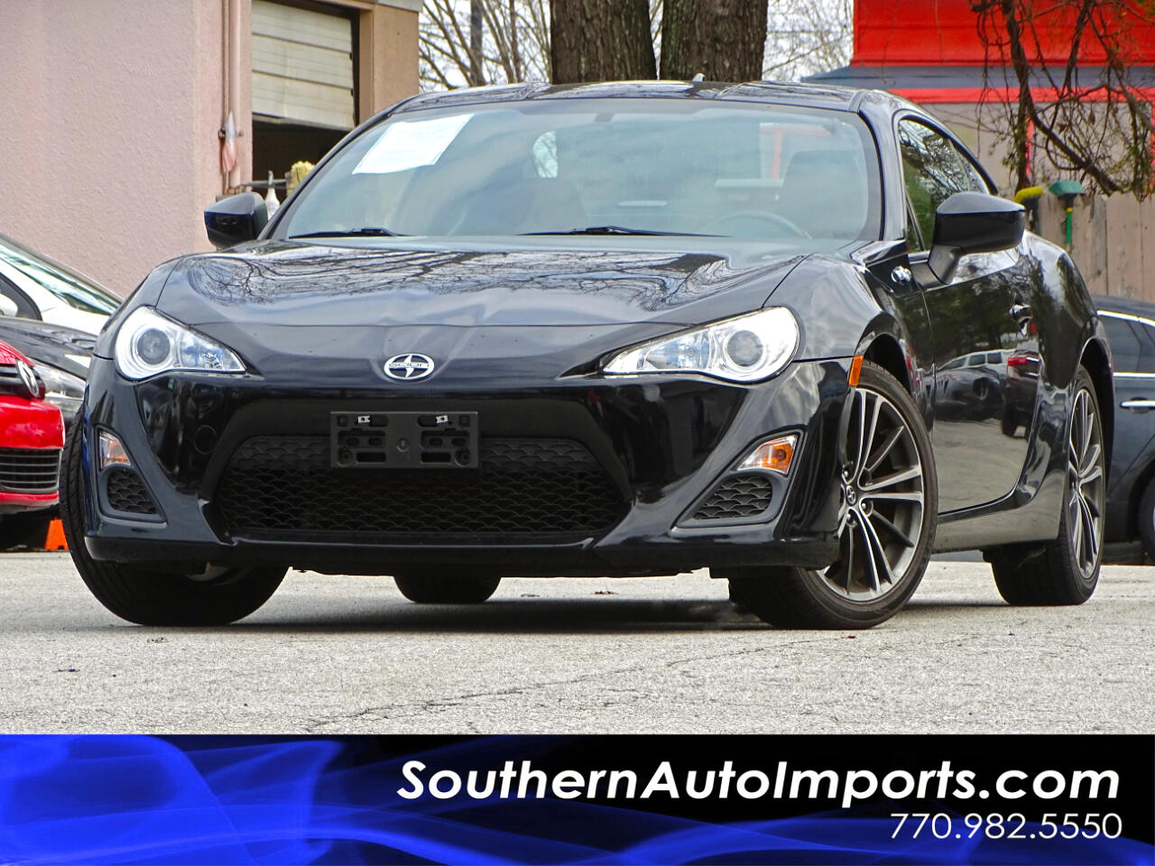 2015 Scion FR-S Manual w/Bluetooth & Premium Sound