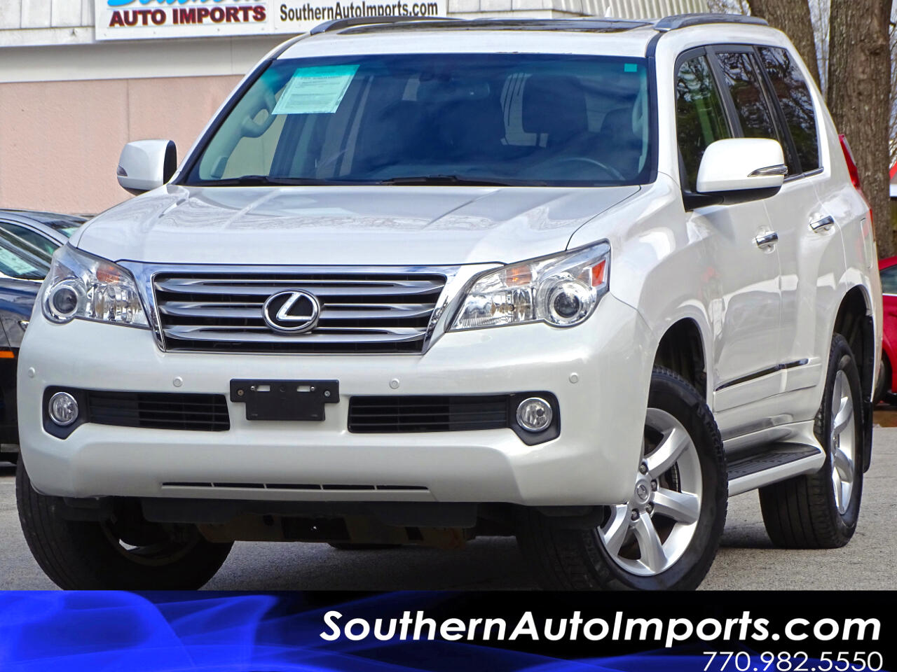 2013 Lexus GX 460 4WD w/Back up Camera Navigation 3rd Row Seats