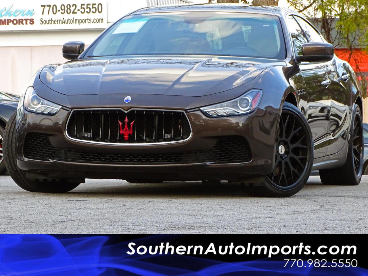 2014 Maserati Ghibli S Q4 w/Back up Camera Navigation System