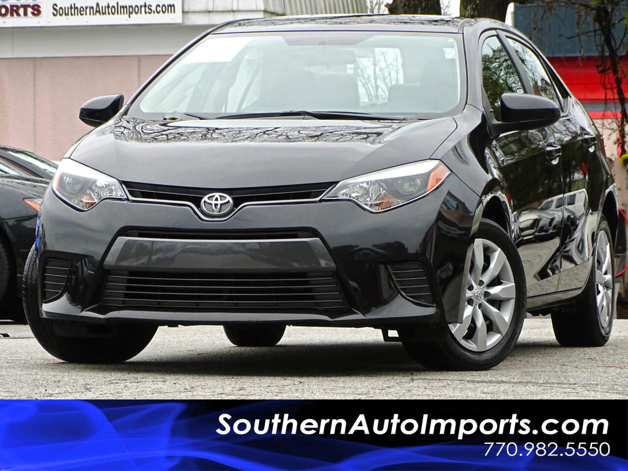 2015 Toyota Corolla LE w/Back Up Camera Bluetooth