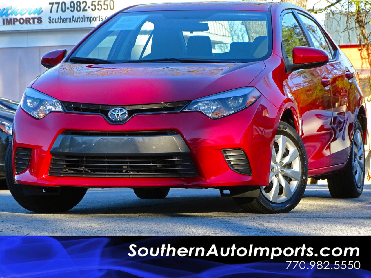 2016 Toyota Corolla LE w/Back up Camera Bluetooth Connection