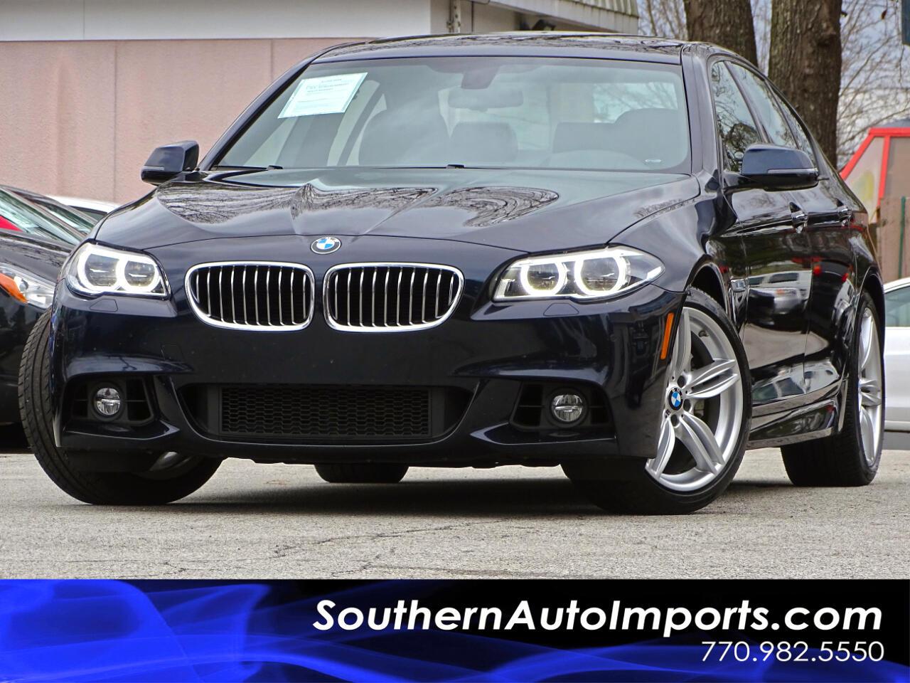 2016 BMW 5 Series 535i ///M Sport & Premium Pkg
