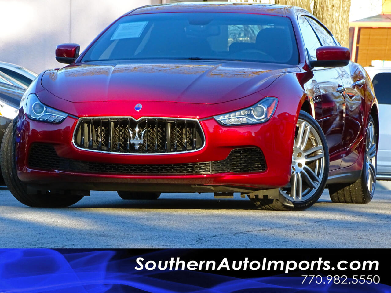 2015 Maserati Ghibli Sport Pkg w/Paddle Shifter Navi Back up Cam