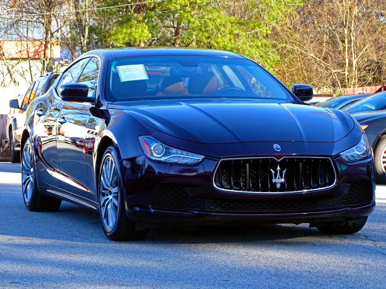 2016 Maserati Ghibli Luxury Package w/Navigation 1owner