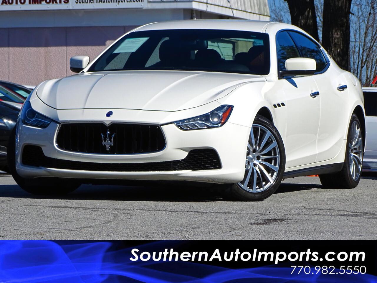 2015 Maserati Ghibli Luxury w/Navigation 1owner