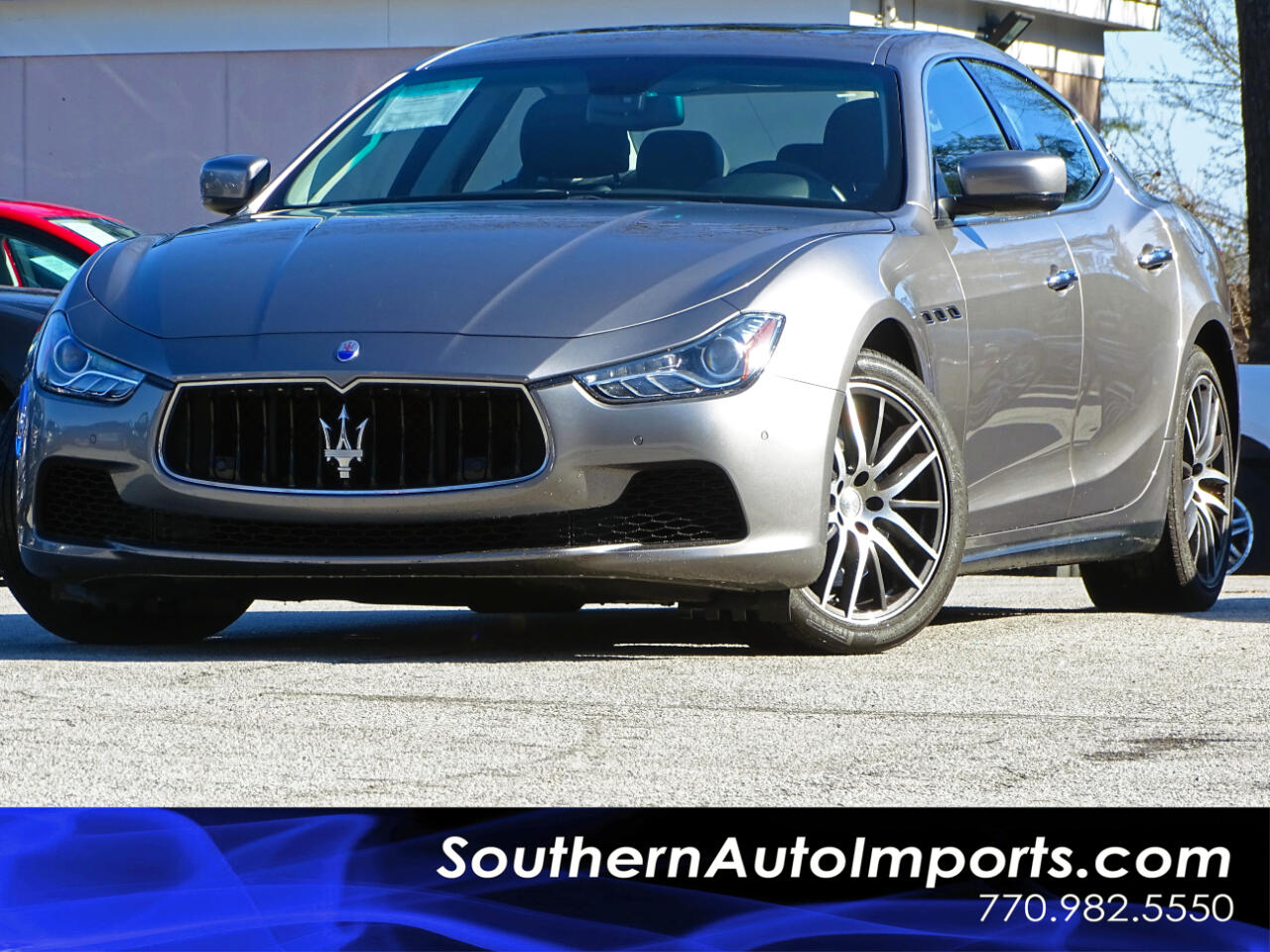 2015 Maserati Ghibli Sport Package w/Paddle Shifters Navigation 1owner