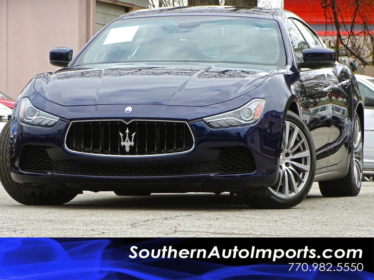 2015 Maserati Ghibli Luxury w/Navigation