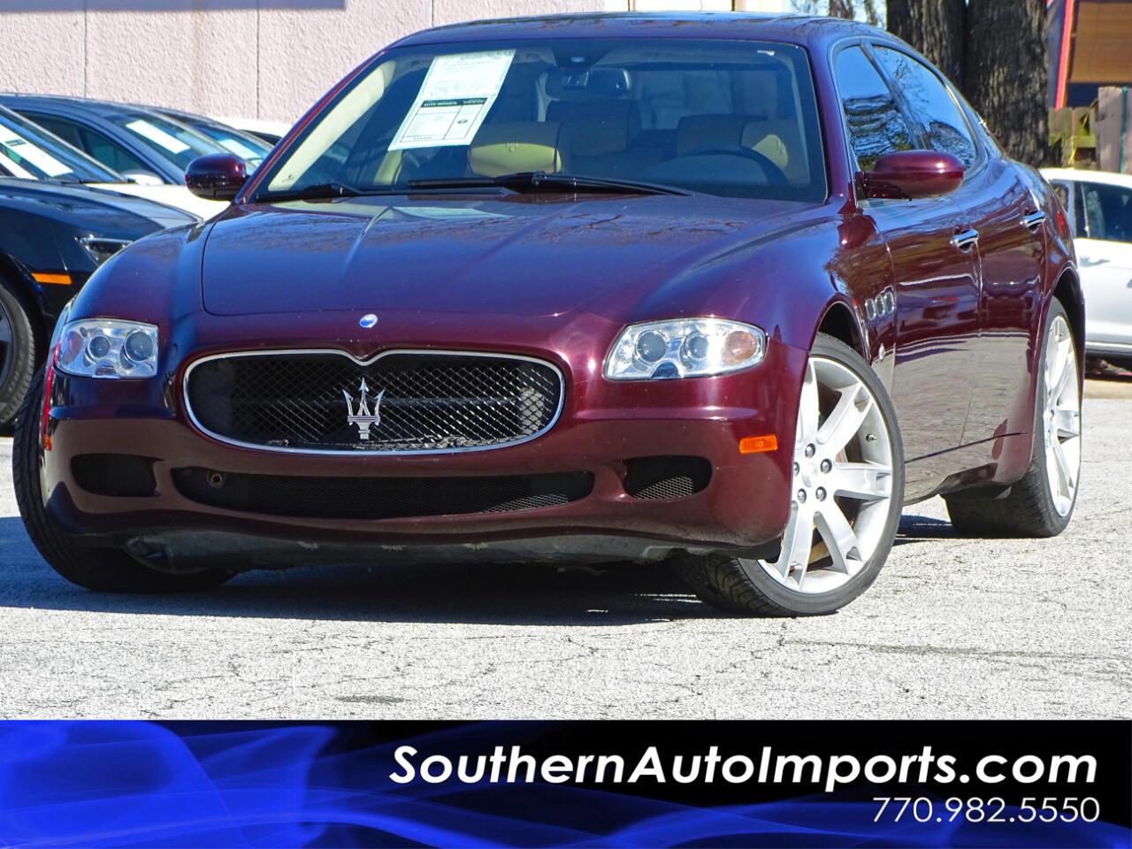 2007 Maserati Quattroporte Executive GT DuoSelect