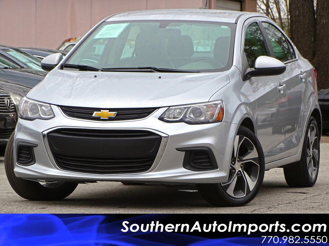 2017 Chevrolet Sonic Auto Premier w/Back up Camera