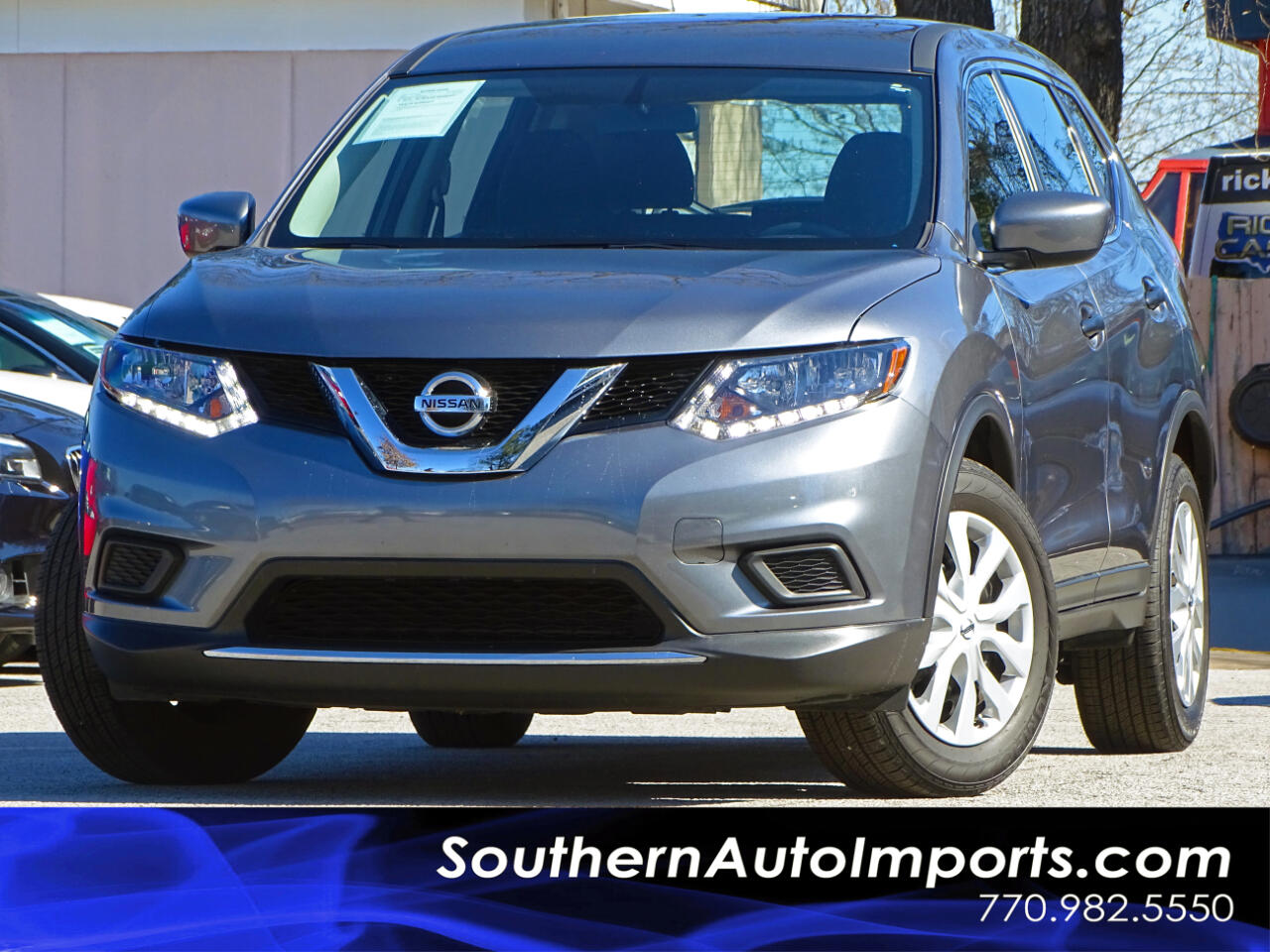 2016 Nissan Rogue S w/Back up Camera Satellite Radio
